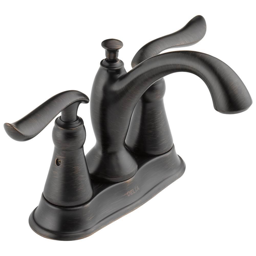 Chrome Delta Faucet 2520LF-TPM Classic Two Handle Centerset Bathroom