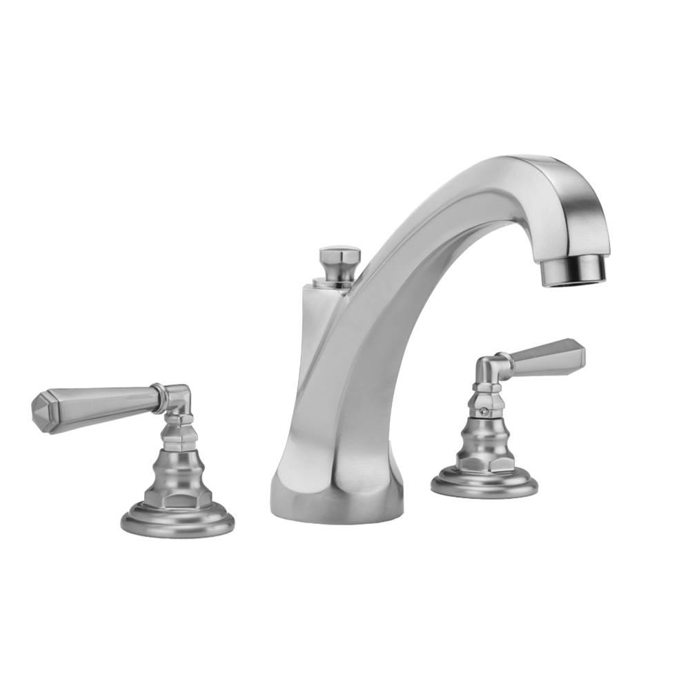 Peg Handles and Straight Handshower Caramel Bronze Jaclo 9980-T638-S-456-TRIM-CB Contempo Roman Bathtub Filler with Lever