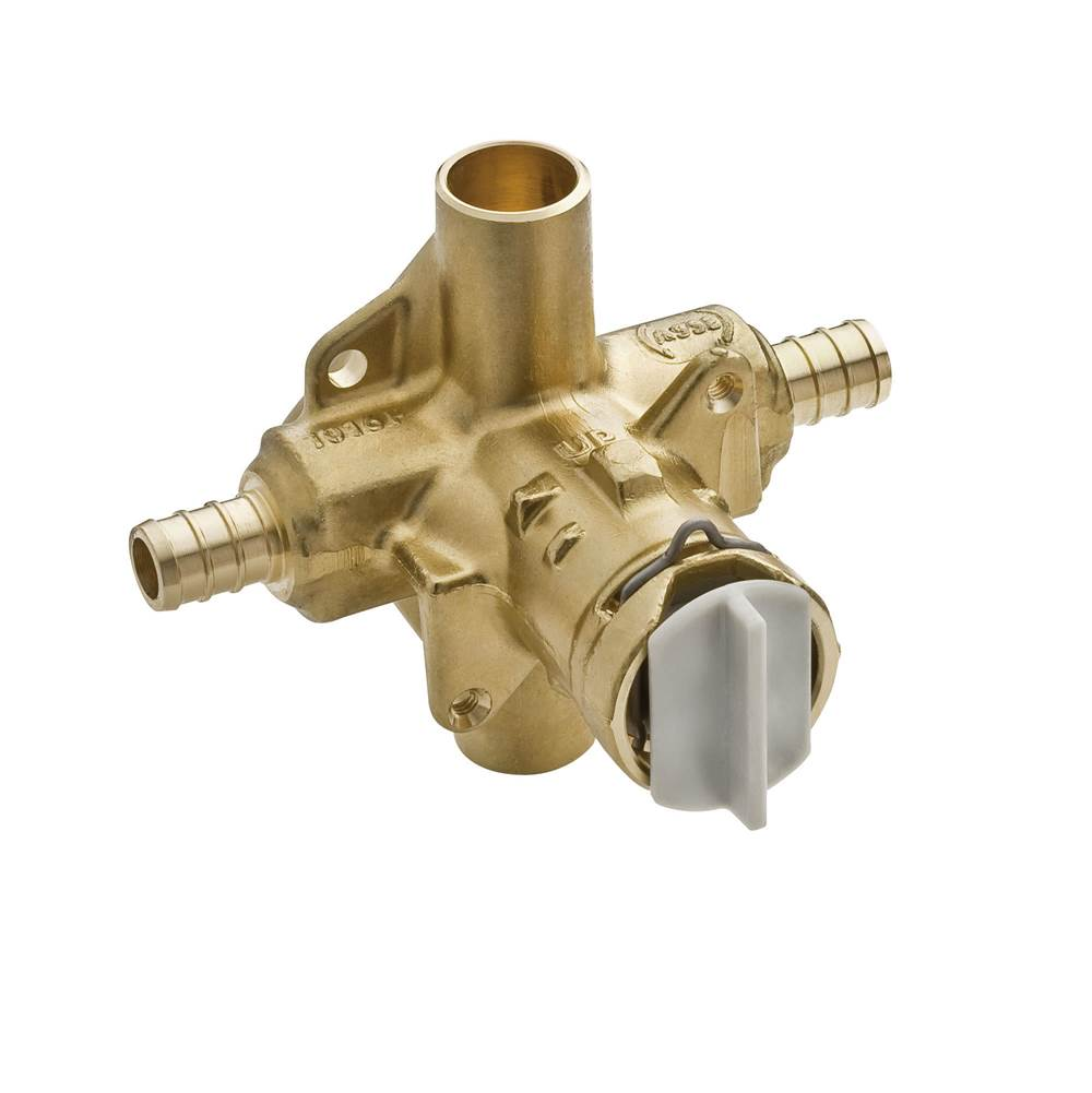 MOEN 2-Handle 3-Hole Roman Tub Adjustable Rough-In Valve CC Connection 1//2 in