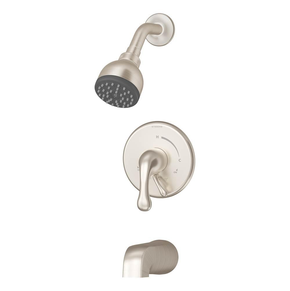 Symmons 6701-STN Identity Single-Handle 1-Spray Shower Faucet Satin Nickel