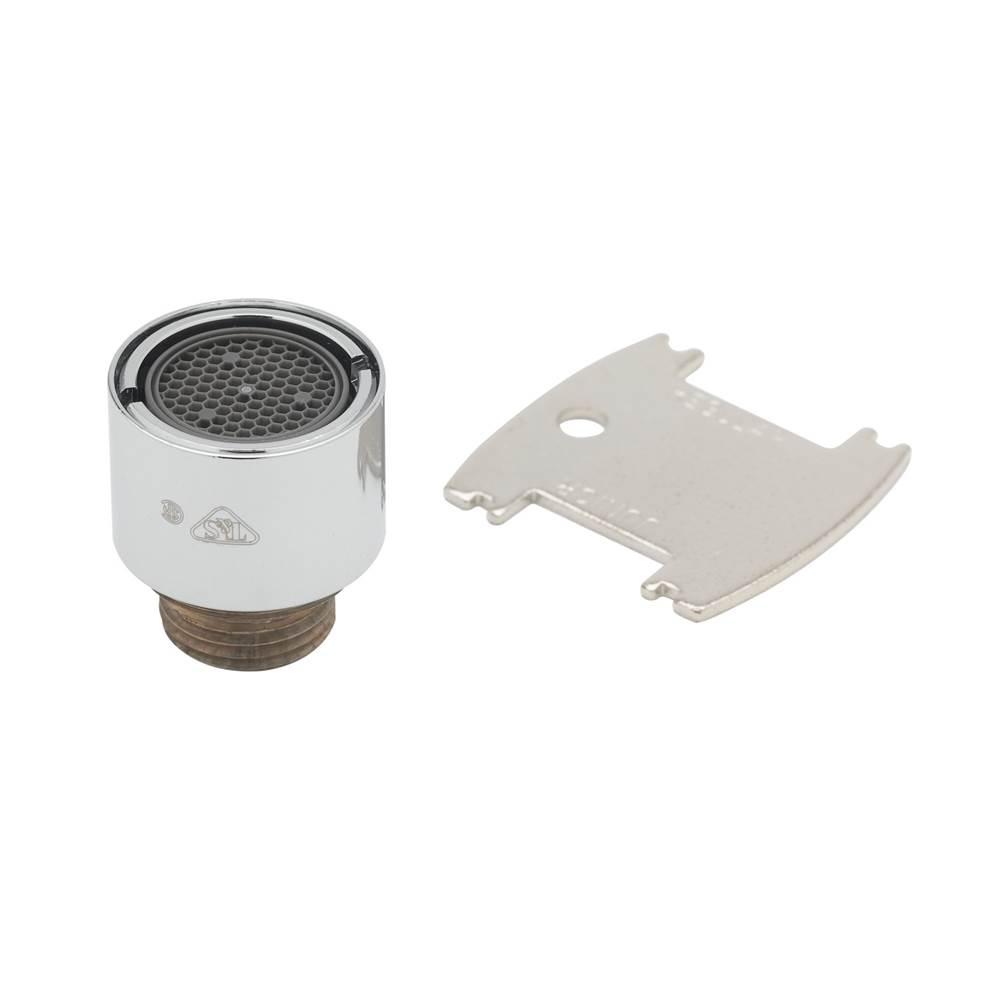 T/&S Brass B-0199-06-F10  1.0 GPM VR Aerator 55//64-27Un Female Threads